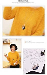 Korean Jewelry Online Malaysia Long Necklace